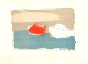 Lithographie Hasch - Marine