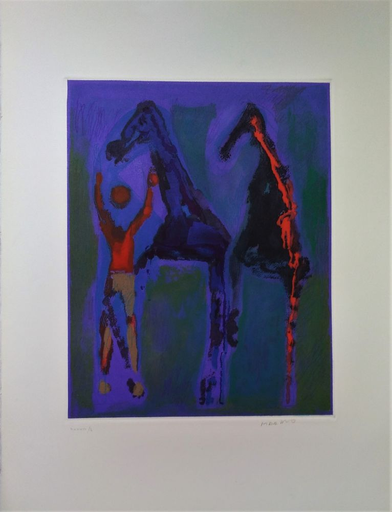 Eau-Forte Et Aquatinte Marini - Marino from Shakespeare II