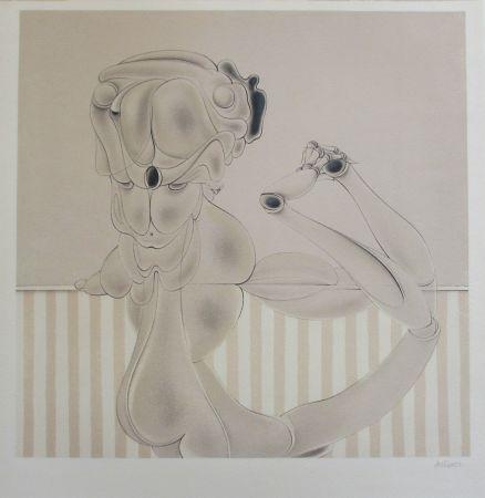 Lithographie Bellmer - Marionnette