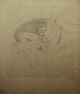 Eau-Forte Et Aquatinte Bellmer - Marionnette 2