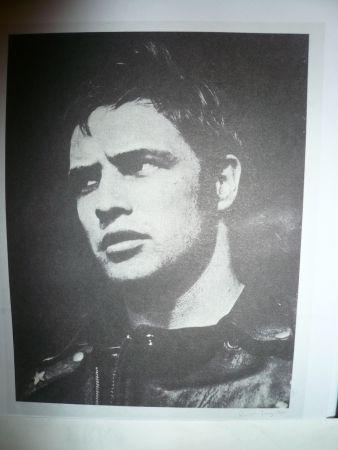 Sérigraphie Young - Marlon Brando
