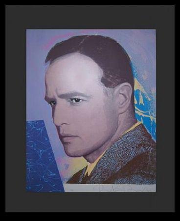 Sérigraphie Duardo - Marlon Brando
