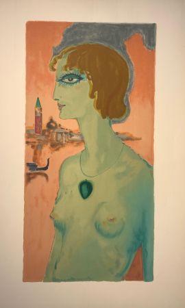 Lithographie Van Dongen - Marqesa Luise Casati