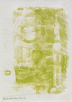 Lithographie Rauschenberg - Marsh