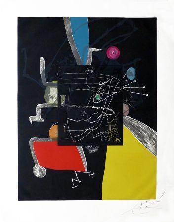 Gravure Miró - Martí i Pol