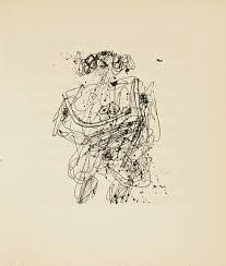 Livre Illustré Dubuffet - MARTEL (André). La Djingine du Théophélès.