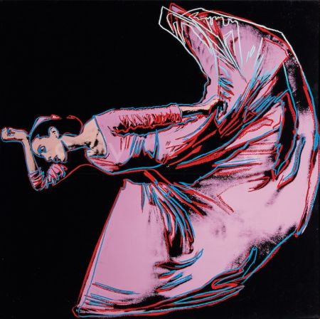 Sérigraphie Warhol - Martha Graham, Letter to the World (The Kick) (FS II.389)