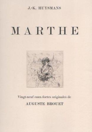 Eau-Forte Brouet - Marthe