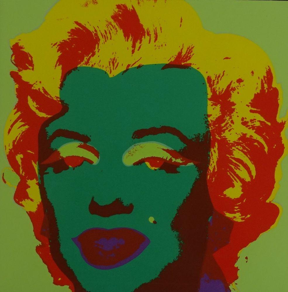 Sérigraphie Warhol - Marylin monroe