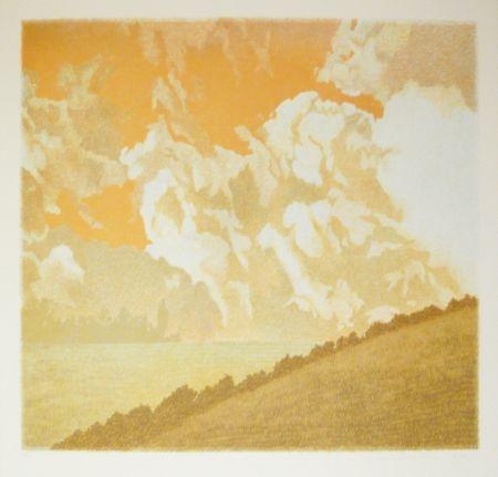 Lithographie Rodrigo - Mas arriba vuelan las aguilas