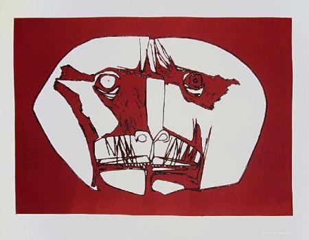 Gravure Guayasamin - Mascara 2