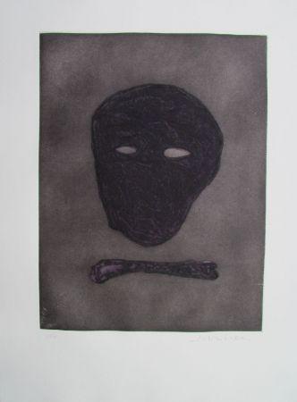 Gravure Scholder - Mask Of The Artist