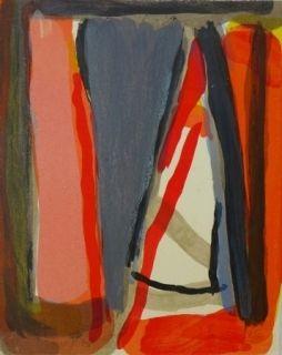 Lithographie Van Velde - Mason, 199