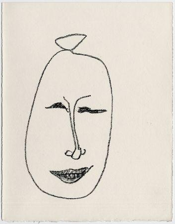 Lithographie Matisse - Masque esquimau n° 9. 1947  (Pour Une Fête en Cimmérie)