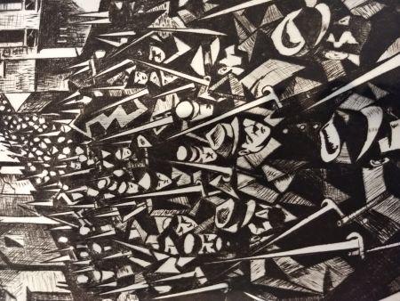 Livre Illustré Nevinson - Masters of etching