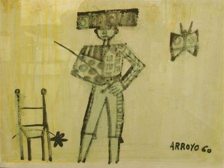 Lithographie Arroyo - MATADOR