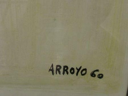 Lithographie Arroyo - MATADOR (Detalle de la firma)