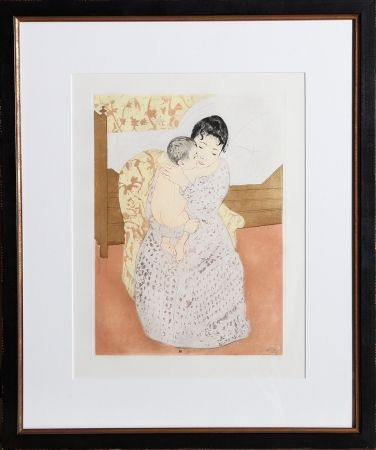 Gravure Cassatt - Maternal Caress