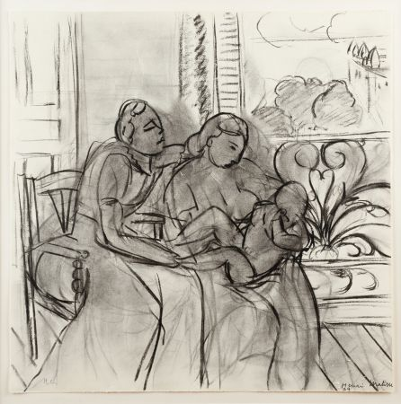 Lithographie Matisse (After) - Maternidad