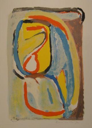 Lithographie Van Velde - Matin / Morning