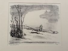 Gravure Asselin - Maurice Asselin.  Dix estampes originales.