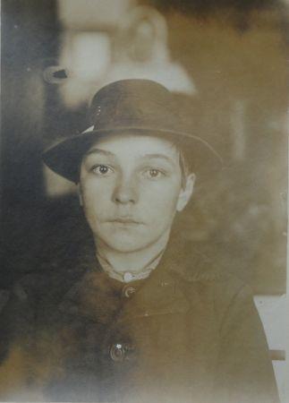 Photographie Hine - Mayar (Hugarian) Boy 1905