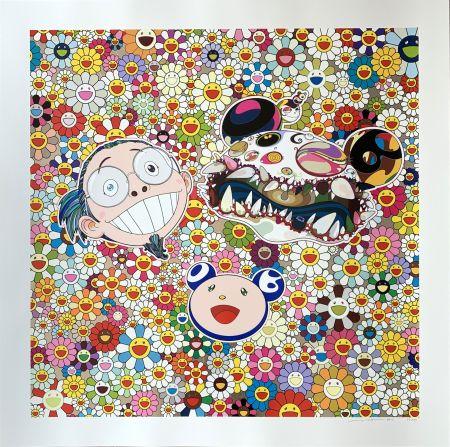 Sérigraphie Murakami - Me and Double DOB