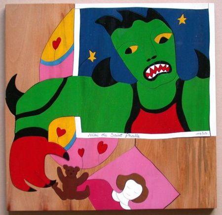 Aucune Technique De Saint Phalle - Mechant Mechant Puzzle