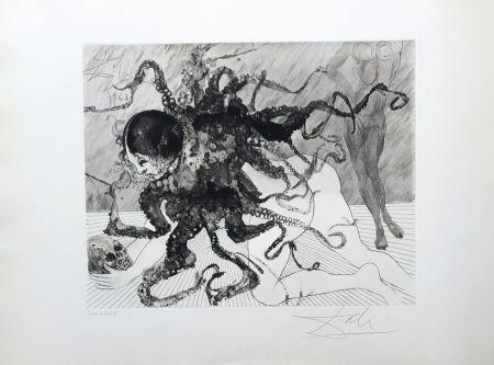 Gravure Dali - Medusa