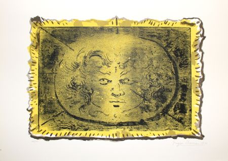 Lithographie Berman - Medusa