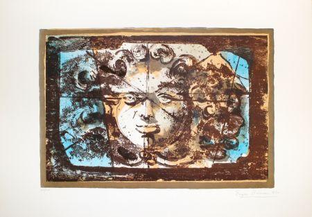 Lithographie Berman - Medusa I