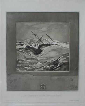 Eau-Forte Et Aquatinte Klinger - Meer (Sea), from the portfolio Vom Tode