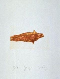 Eau-Forte Et Aquatinte Beuys - Meerengel Robbe II