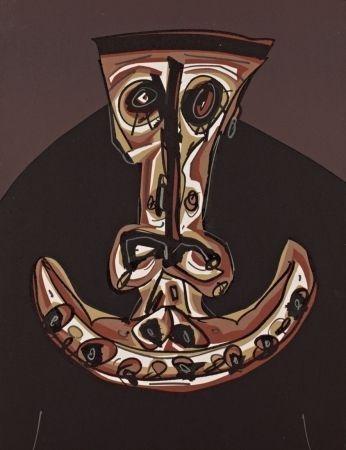 Lithographie Saura - Melanchton V