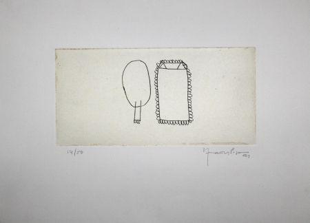 Gravure Hernandez Pijuan - Memòria de la Segarra III