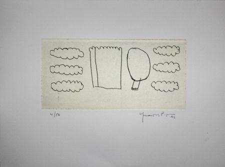 Gravure Hernandez Pijuan - Memòria de la Segarra V