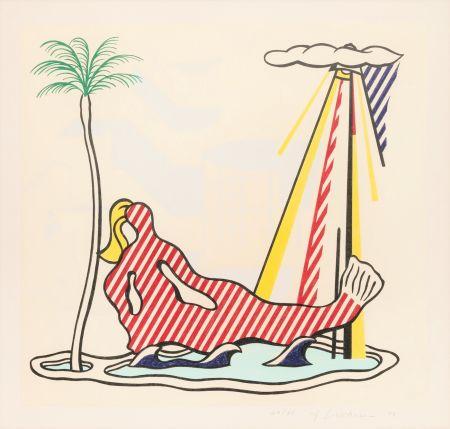 Lithographie Lichtenstein - Mermaid