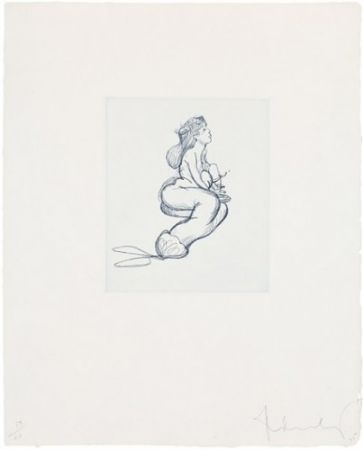 Gravure Oldenburg - Mermaid