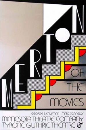 Sérigraphie Lichtenstein - Merton Of The Movie Signed