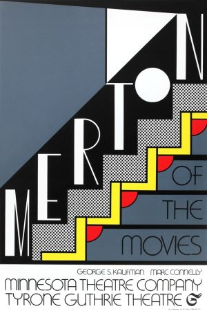 Sérigraphie Lichtenstein - Merton of the Movies
