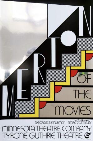 Sérigraphie Lichtenstein - Merton Of The Movies Poster (Hand Signed)
