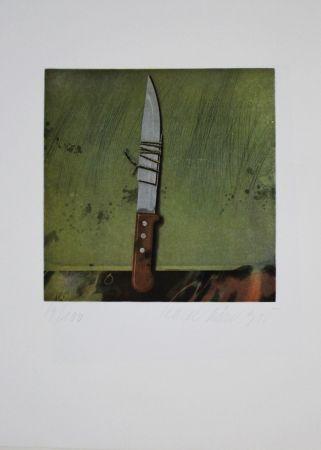 Eau-Forte Et Aquatinte Rösel - Messer / Knife