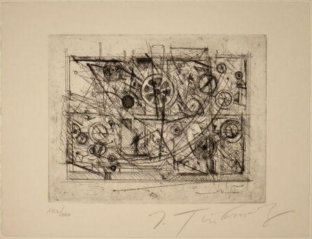 Eau-Forte Tinguely - Metaharmonie III