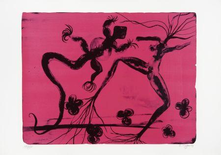 Lithographie Toguo - Metamorphosis at Dawn