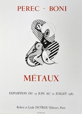 Affiche Boni - Metaux