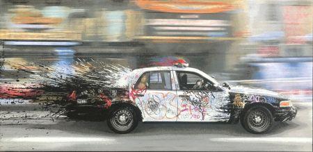 Aucune Technique Mr. Brainwash - Metro Polisa (Canvas)