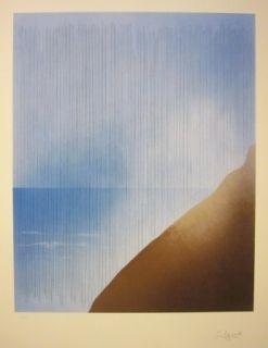 Lithographie Aguade - Mexico