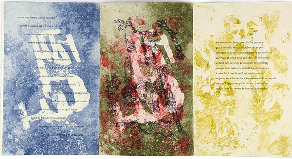 Livre Illustré Bryen - Michel Butor. QUERELLE DES ÉTATS (EO. 1973)