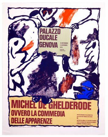 Affiche Alechinsky - Michel de Ghelderode, 1980