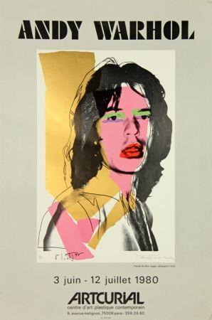 Sérigraphie Warhol - Mick Jagger